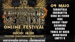 ONLINE FESTIVAL: 9 DE MAIO